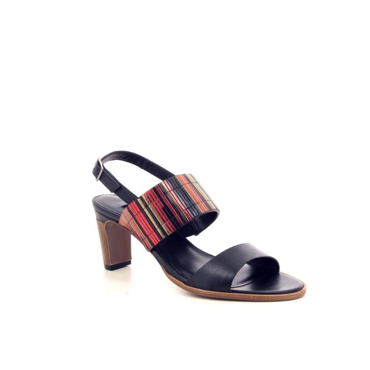 Thiron damesschoenen sandaal zwart 195050
