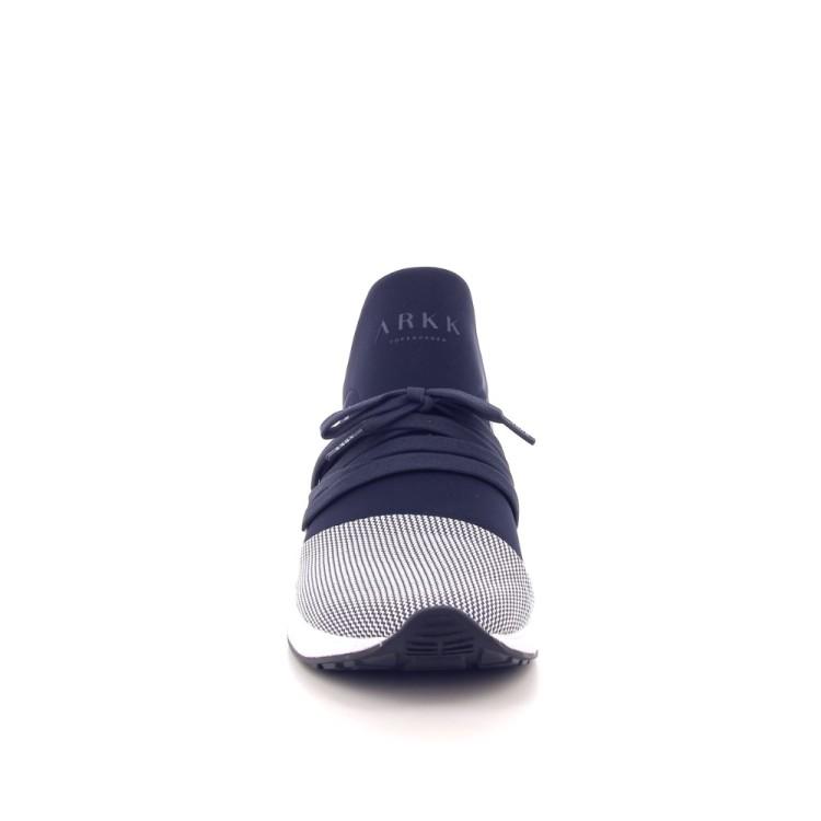 Arkk  herenschoenen sneaker donkerblauw 201698