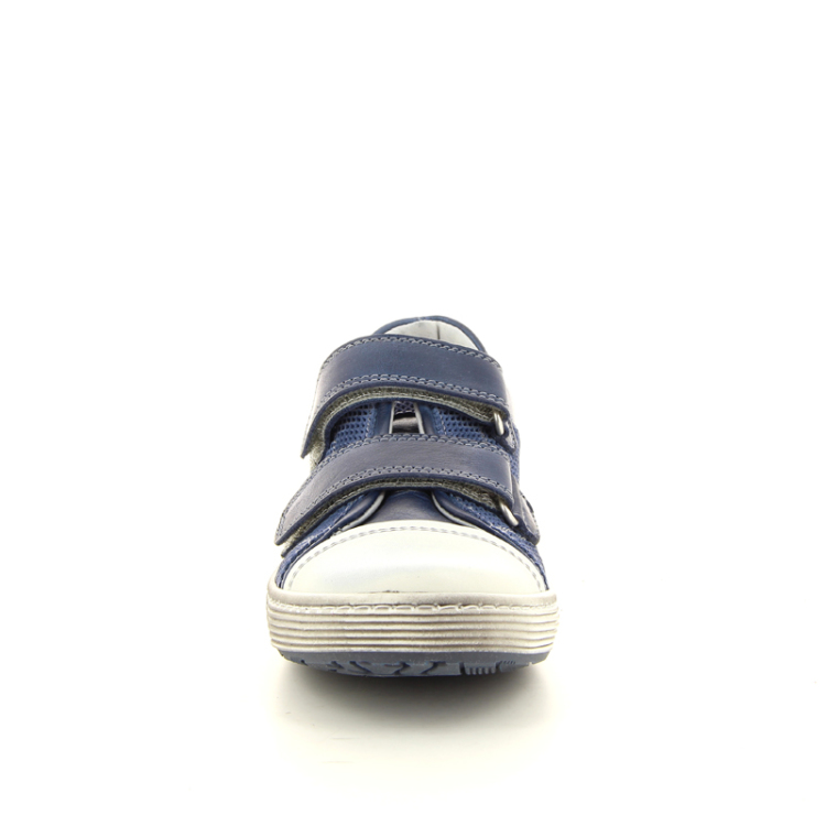 Stones and bones kinderschoenen mocassin jeansblauw 10941
