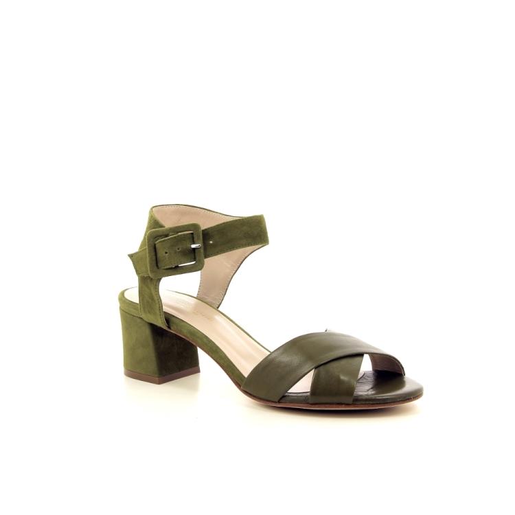 Lorenzo masiero damesschoenen sandaal kaki 195836