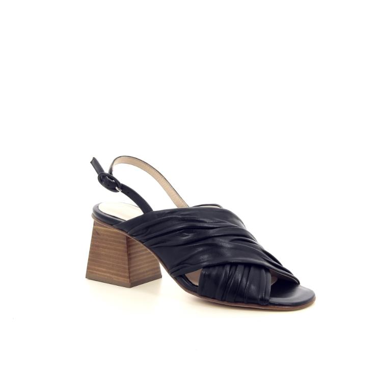 Lorenzo masiero damesschoenen sandaal zwart 195827