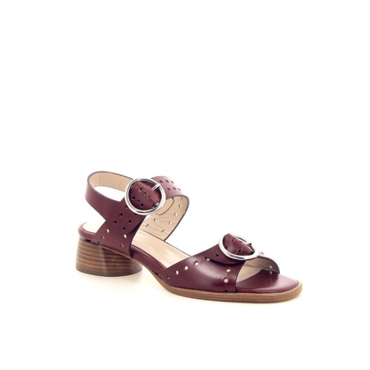 Lorenzo masiero damesschoenen sandaal bordo 195824