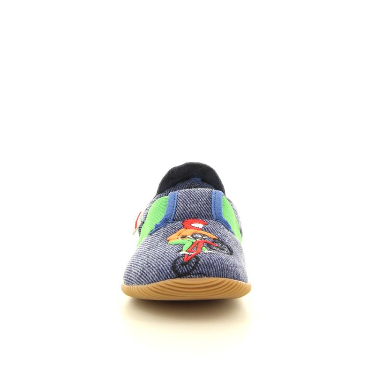 Giesswein kinderschoenen pantoffel jeansblauw 11256