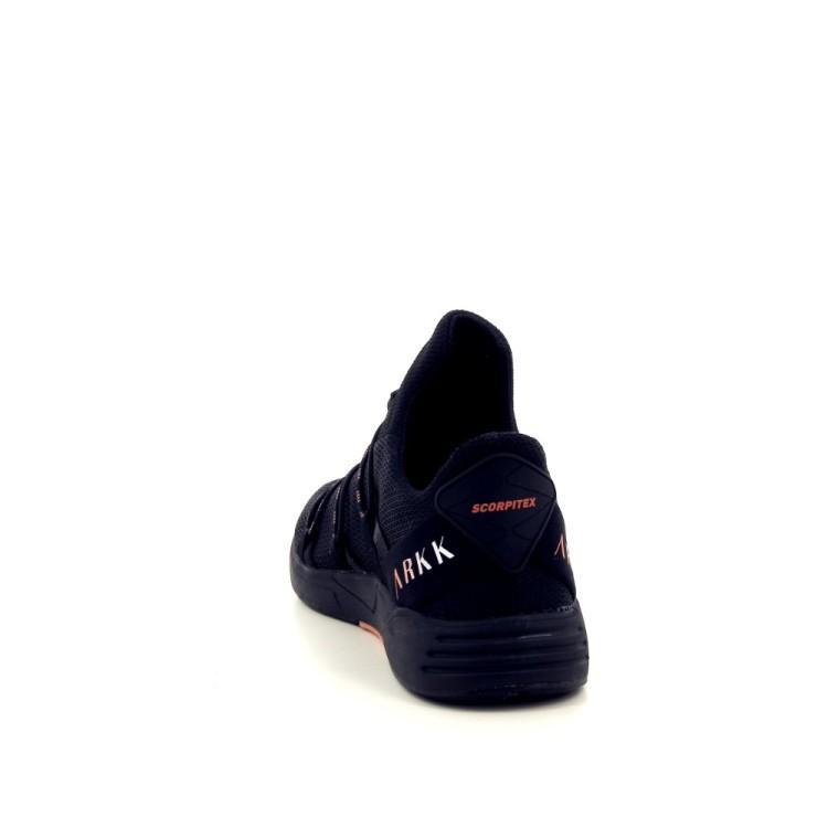 Arkk  damesschoenen sneaker zwart 187318
