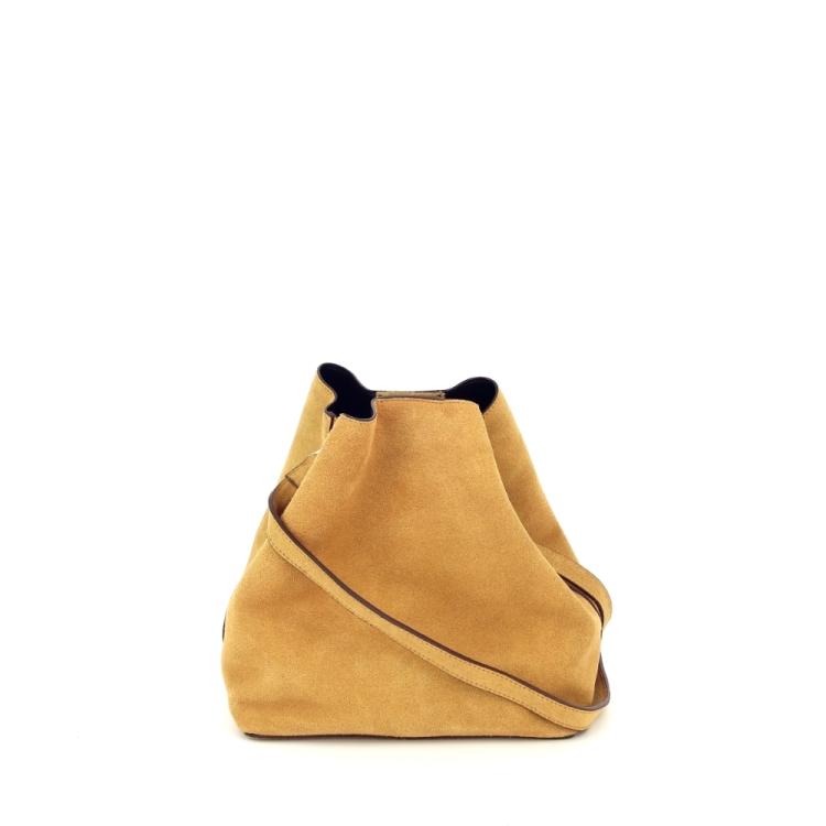 Neuville tassen handtas geel 194653