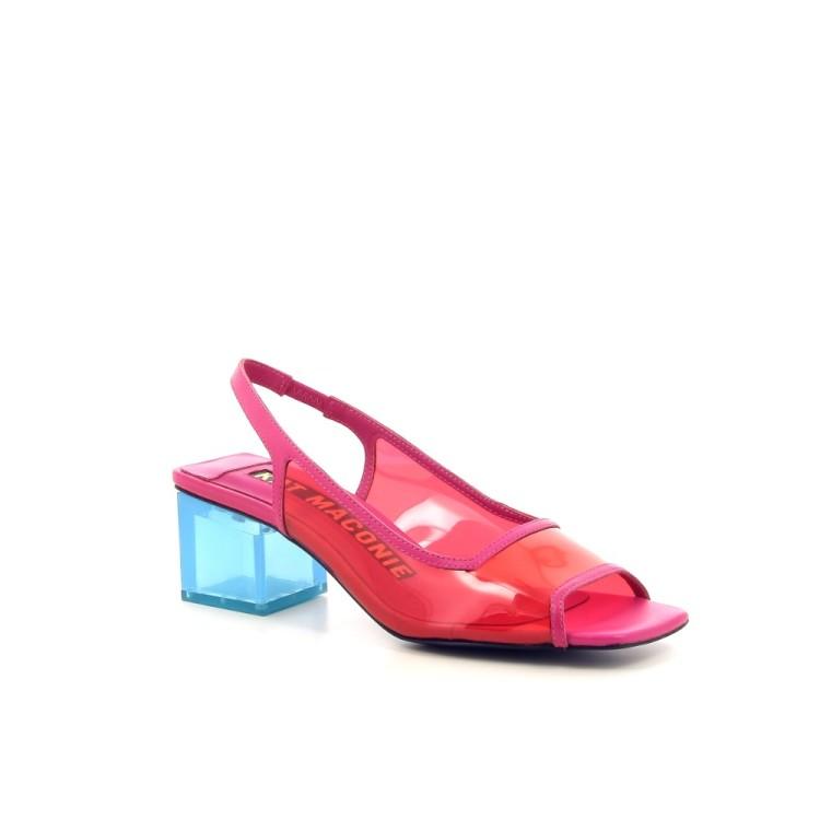 Kat maconie damesschoenen sandaal rood 191621