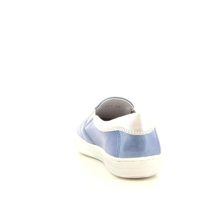 Terre bleue kinderschoenen mocassin hemelsblauw 10440