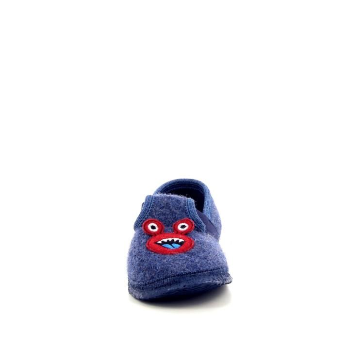 Giesswein kinderschoenen pantoffel jeansblauw 189529