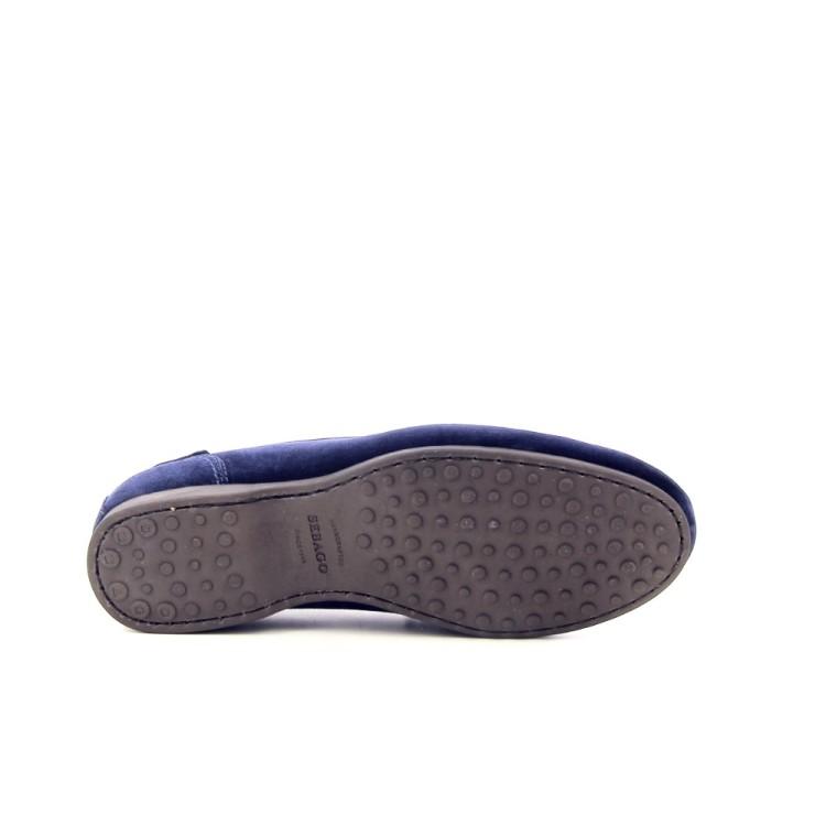 Sebago herenschoenen veterschoen blauw 182365