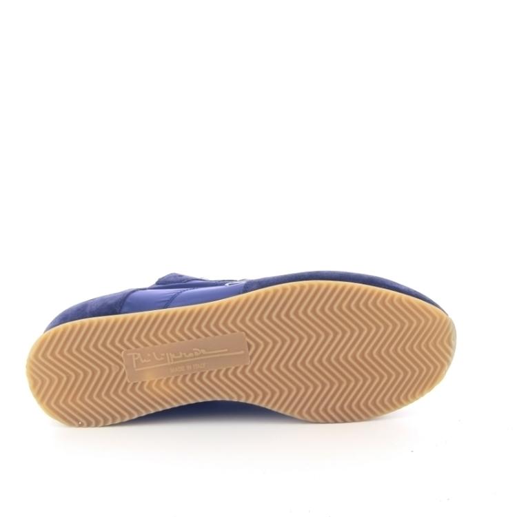 Philippe model herenschoenen sneaker donkerblauw 168719