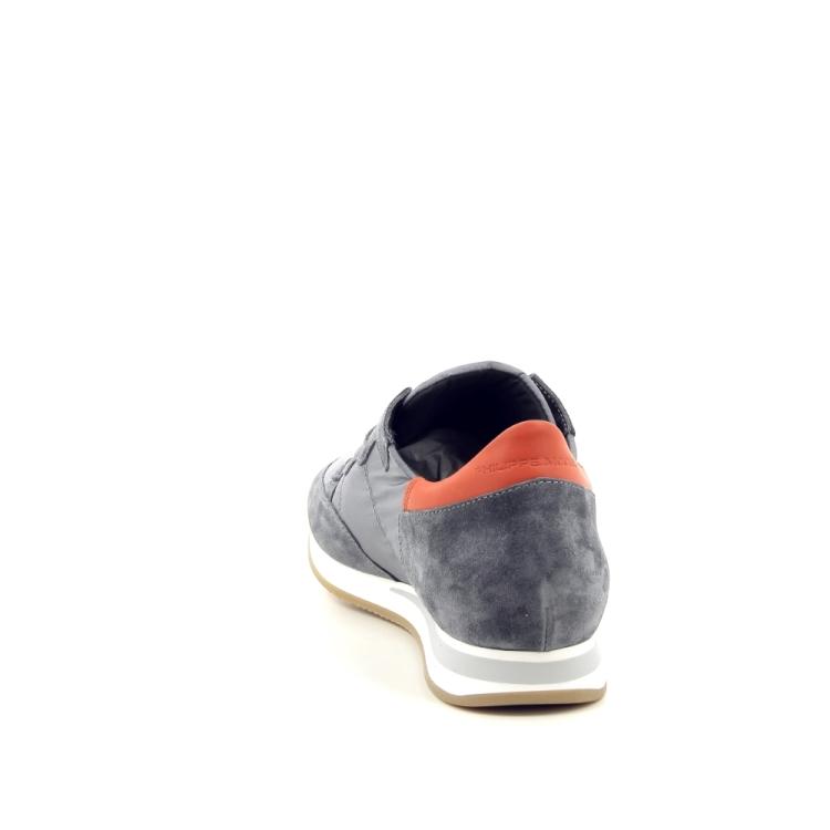 Philippe model herenschoenen sneaker grijs 191778