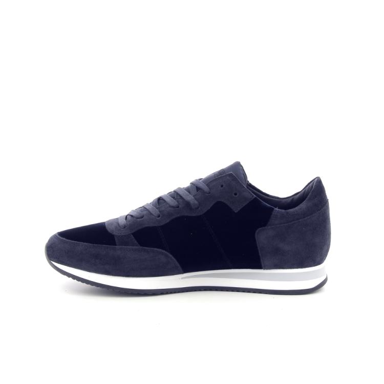 Philippe model herenschoenen sneaker donkerblauw 187645