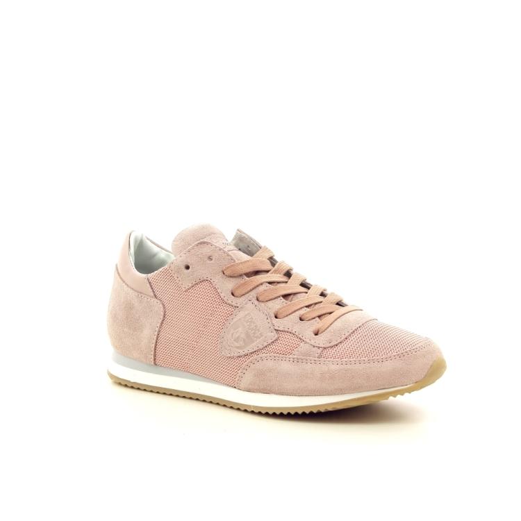 Philippe model kinderschoenen sneaker poederrose 194436