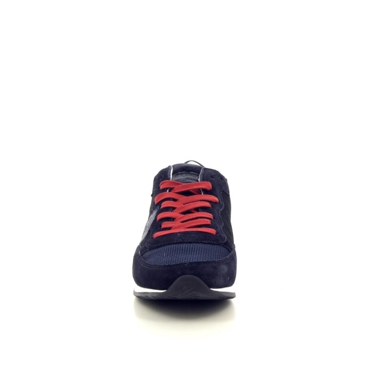 Philippe model kinderschoenen sneaker donkerblauw 194437