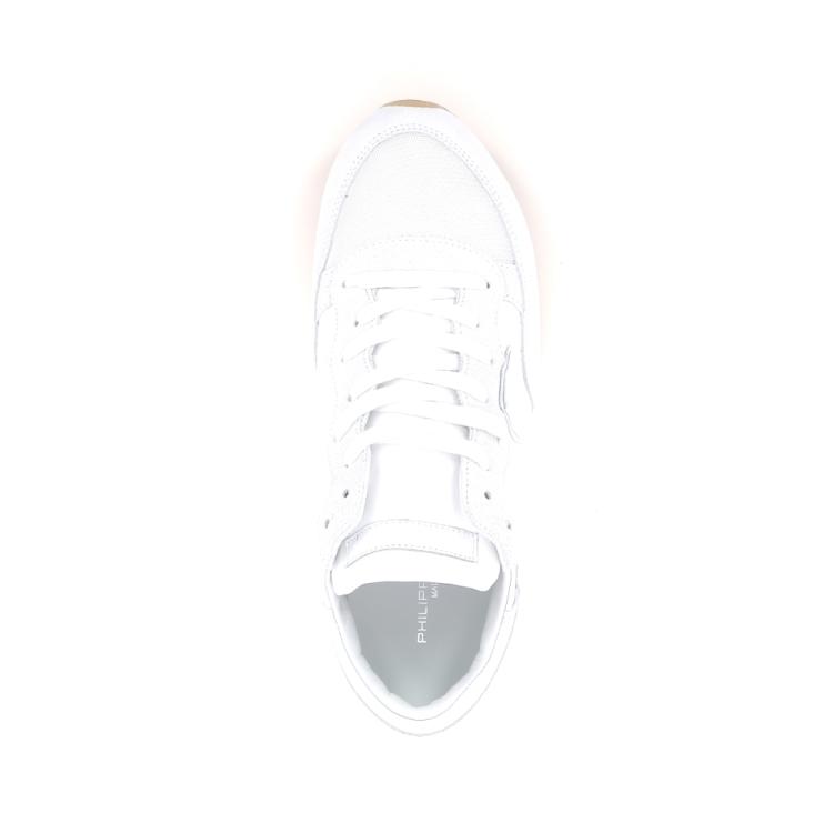 Philippe model damesschoenen sneaker wit 191726