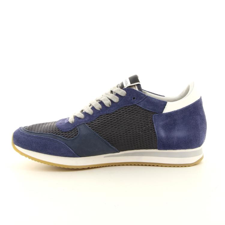 Philippe model herenschoenen sneaker blauw 98006