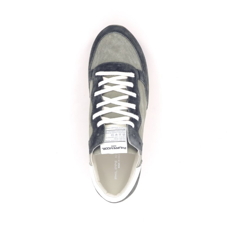 Philippe model herenschoenen sneaker kaki 194645