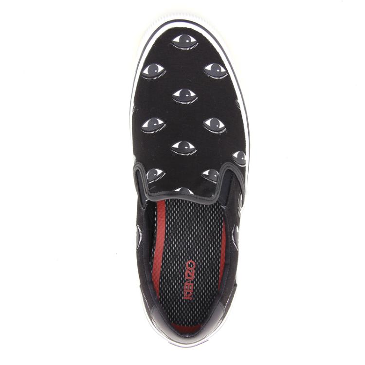 Kenzo herenschoenen sneaker zwart 12165