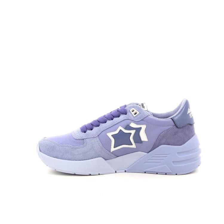 Atlantic stars damesschoenen sneaker lila 194158