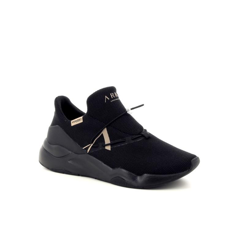 Arkk  herenschoenen sneaker zwart 190777