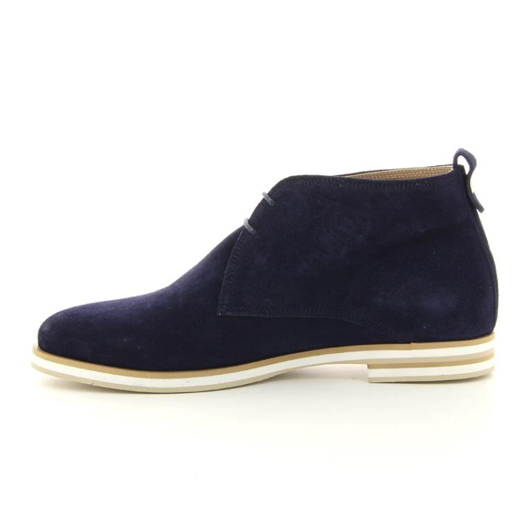 Akua damesschoenen boots blauw 11717