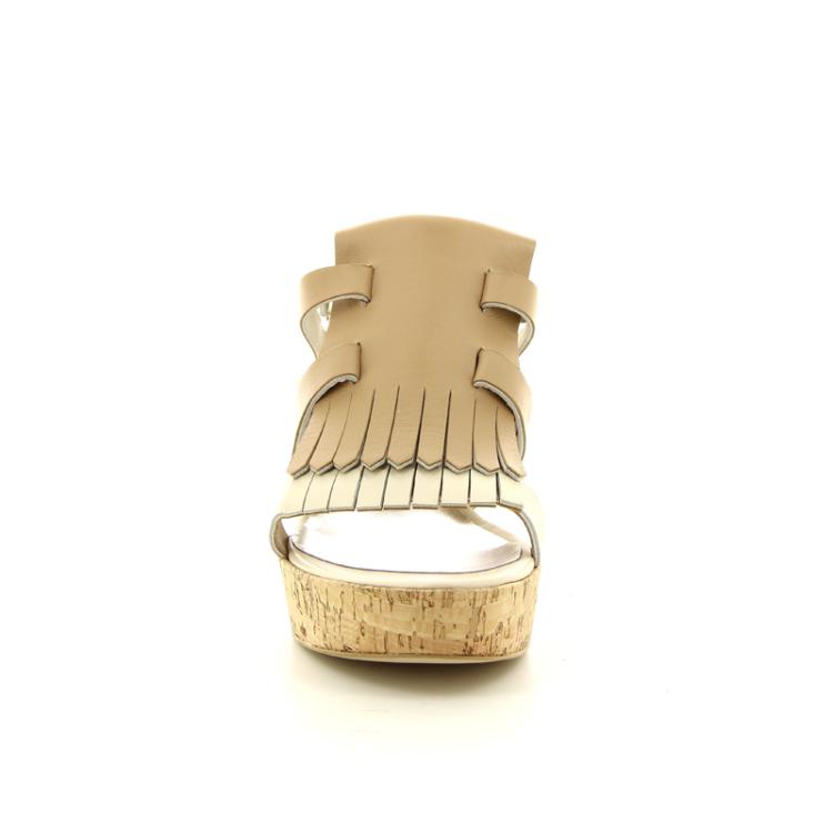 Akua damesschoenen sandaal beige 11726