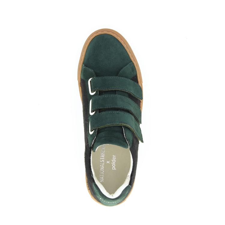 National standard damesschoenen sneaker groen 18874
