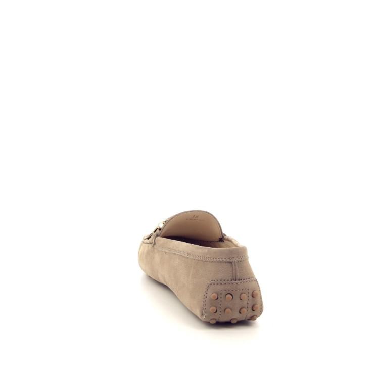 Tod's damesschoenen mocassin taupe 195046