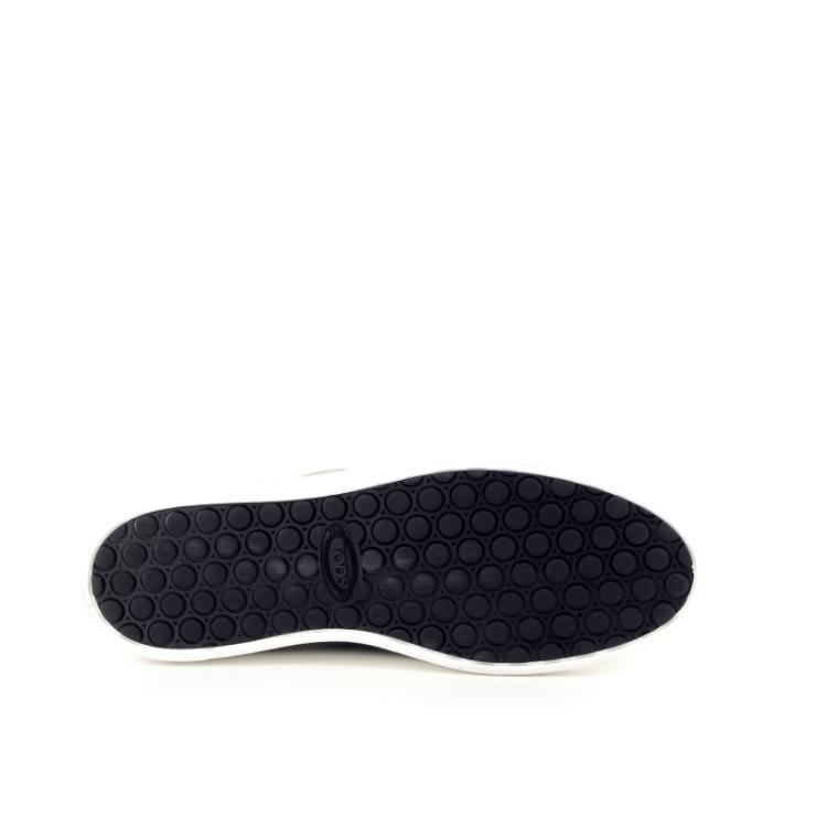 Tod's damesschoenen veterschoen zwart 168623