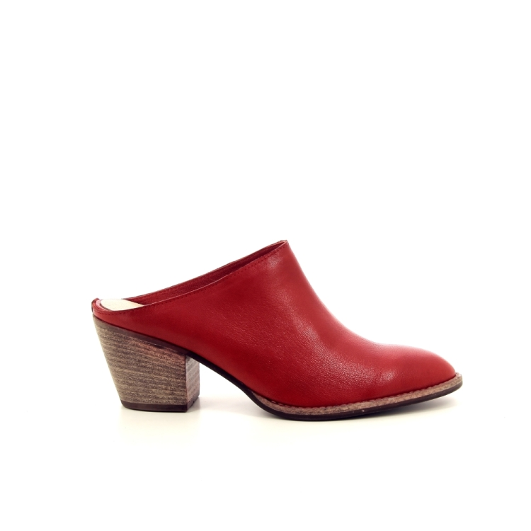 Progetto damesschoenen sleffer rood 195298