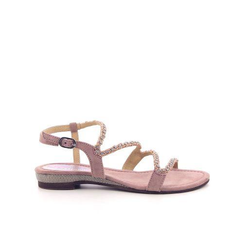 Lazamani damesschoenen sandaal poederrose 193887
