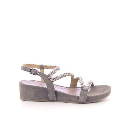 Lazamani damesschoenen sandaal taupe 193883