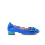 Le babe damesschoenen ballerina blauw 174366