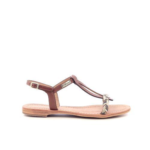 Les tropeziennes  sandaal cognac 213386