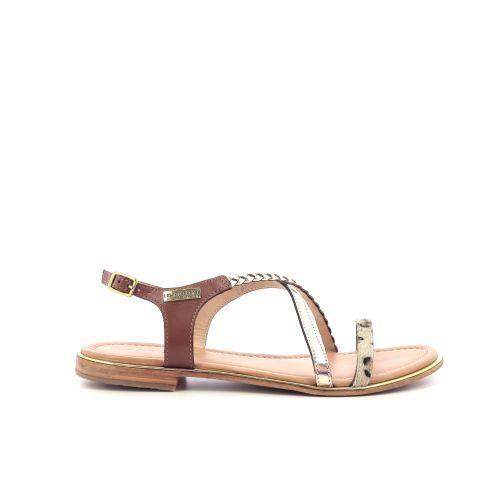 Les tropeziennes damesschoenen sandaal goud 204459