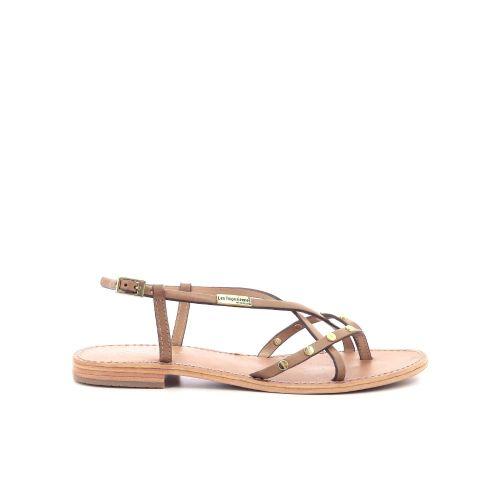 Les tropeziennes damesschoenen sandaal licht naturel 204457