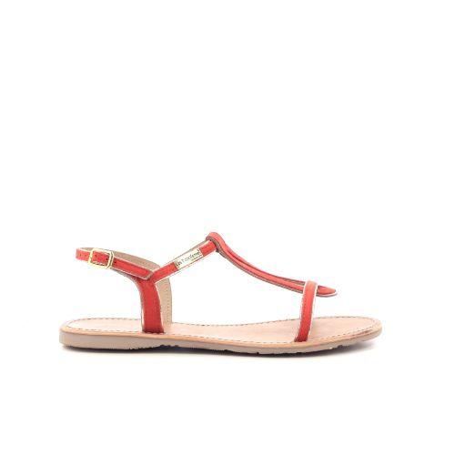Les tropeziennes damesschoenen sandaal oranje 204467
