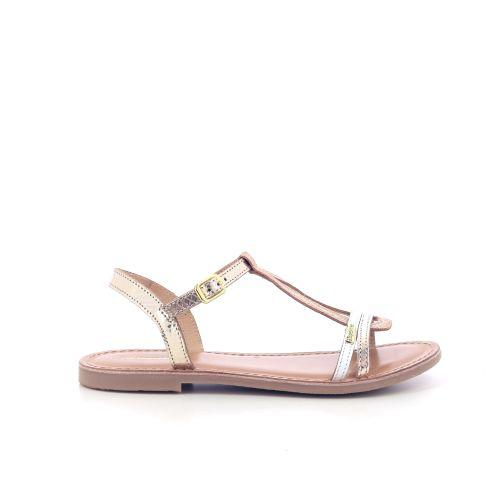 Les tropeziennes  sandaal goud 204471