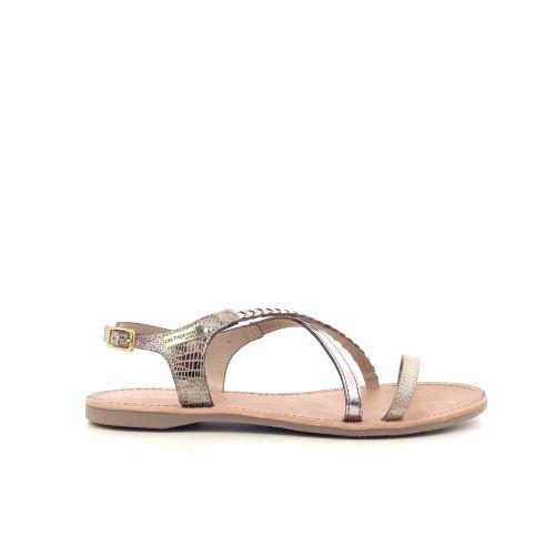 Les tropeziennes  sandaal naturel 213392