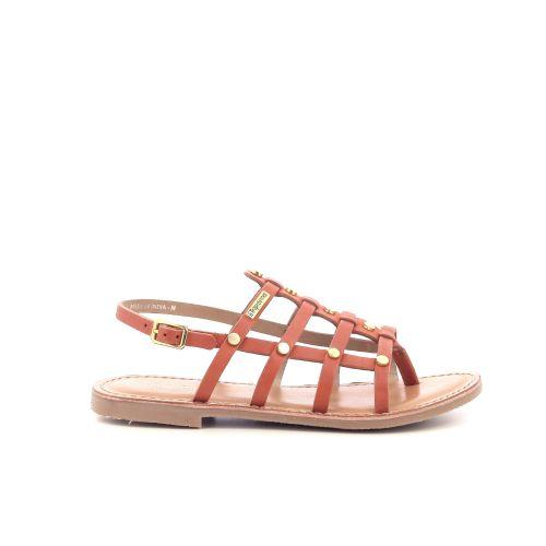 Les tropeziennes  sandaal oranje 204463