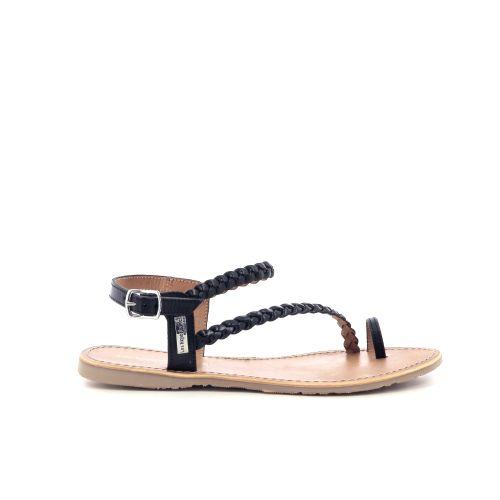Les tropeziennes  sandaal zwart 204464