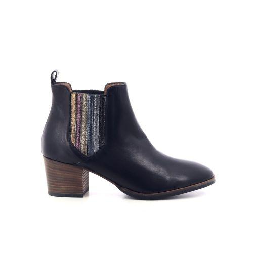 Les venues damesschoenen boots donkergroen 208756
