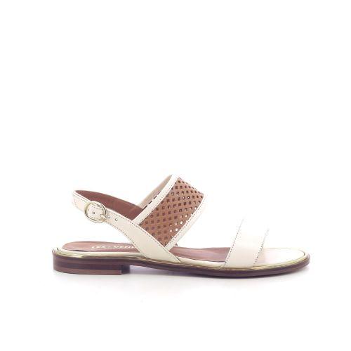 Les venues damesschoenen sandaal ecru 212695
