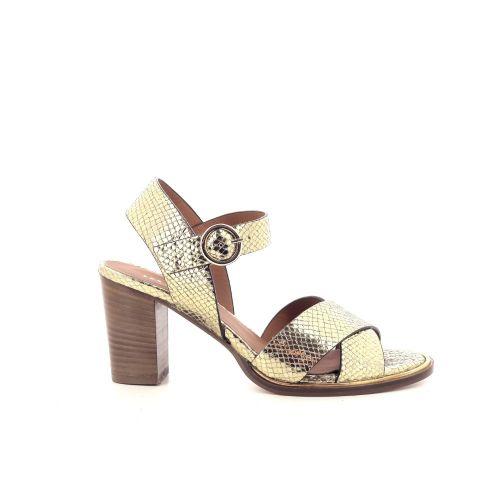 Les venues damesschoenen sandaal goud 212697