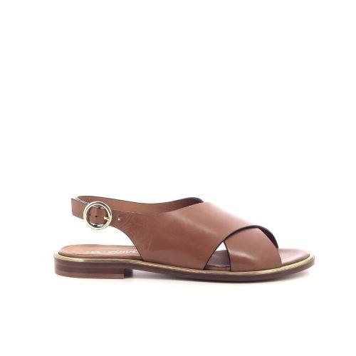 Les venues damesschoenen sandaal naturel 212694