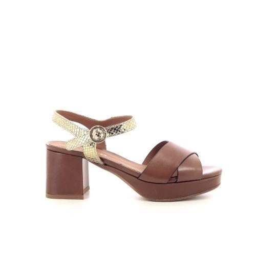 Les venues damesschoenen sandaal naturel 212696