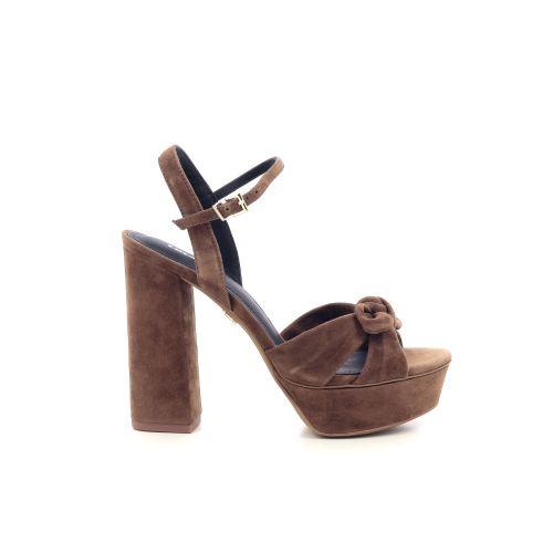 Lola cruz damesschoenen sandaal bruin 205111