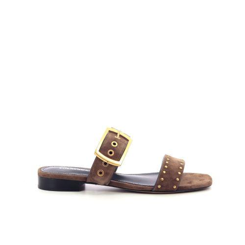 Lola cruz damesschoenen sleffer bruin 205117