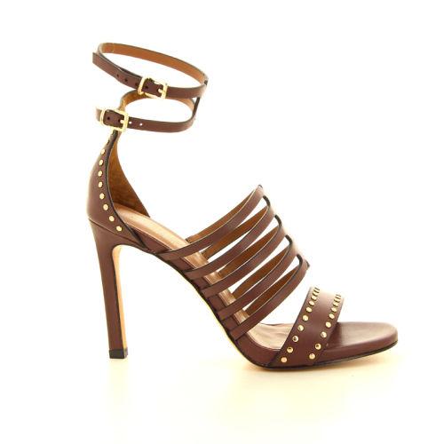 Lola cruz damesschoenen sandaal cognac 12330