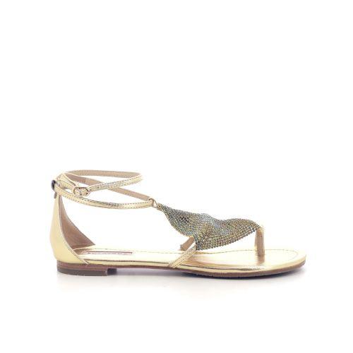 Lola cruz damesschoenen sandaal goud 213961